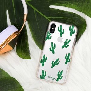 NIB Casery Cactus iPhone X Case